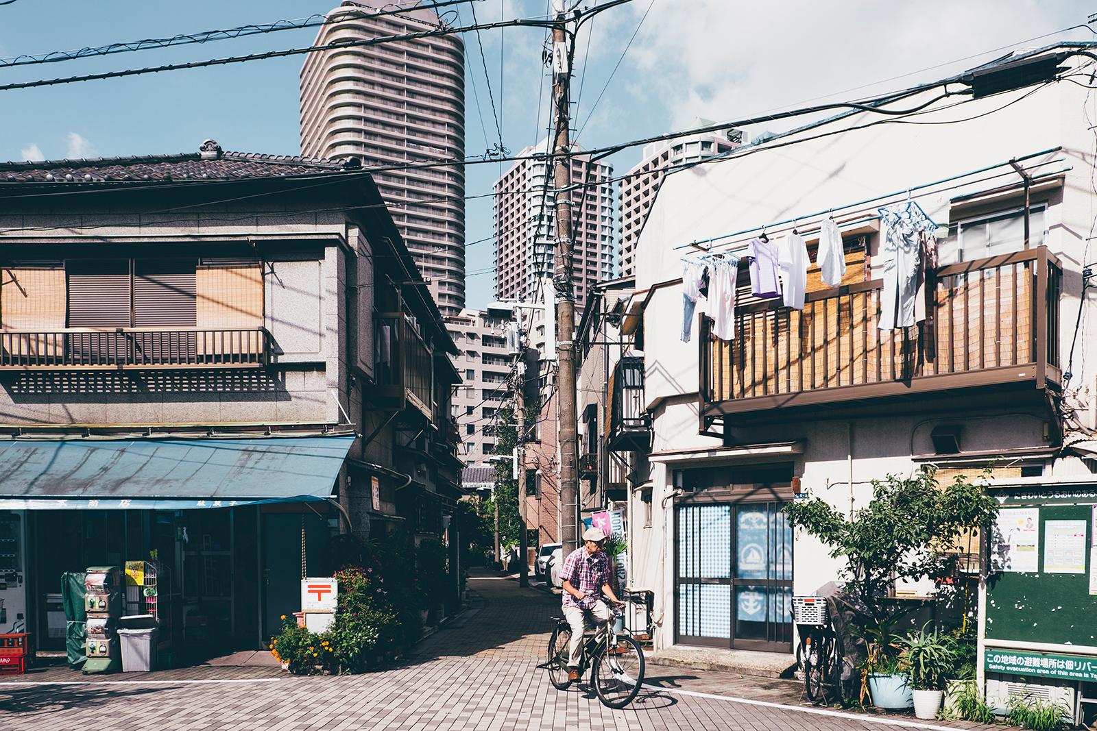 平成と昭和の二つの顔、中央区佃の魅力