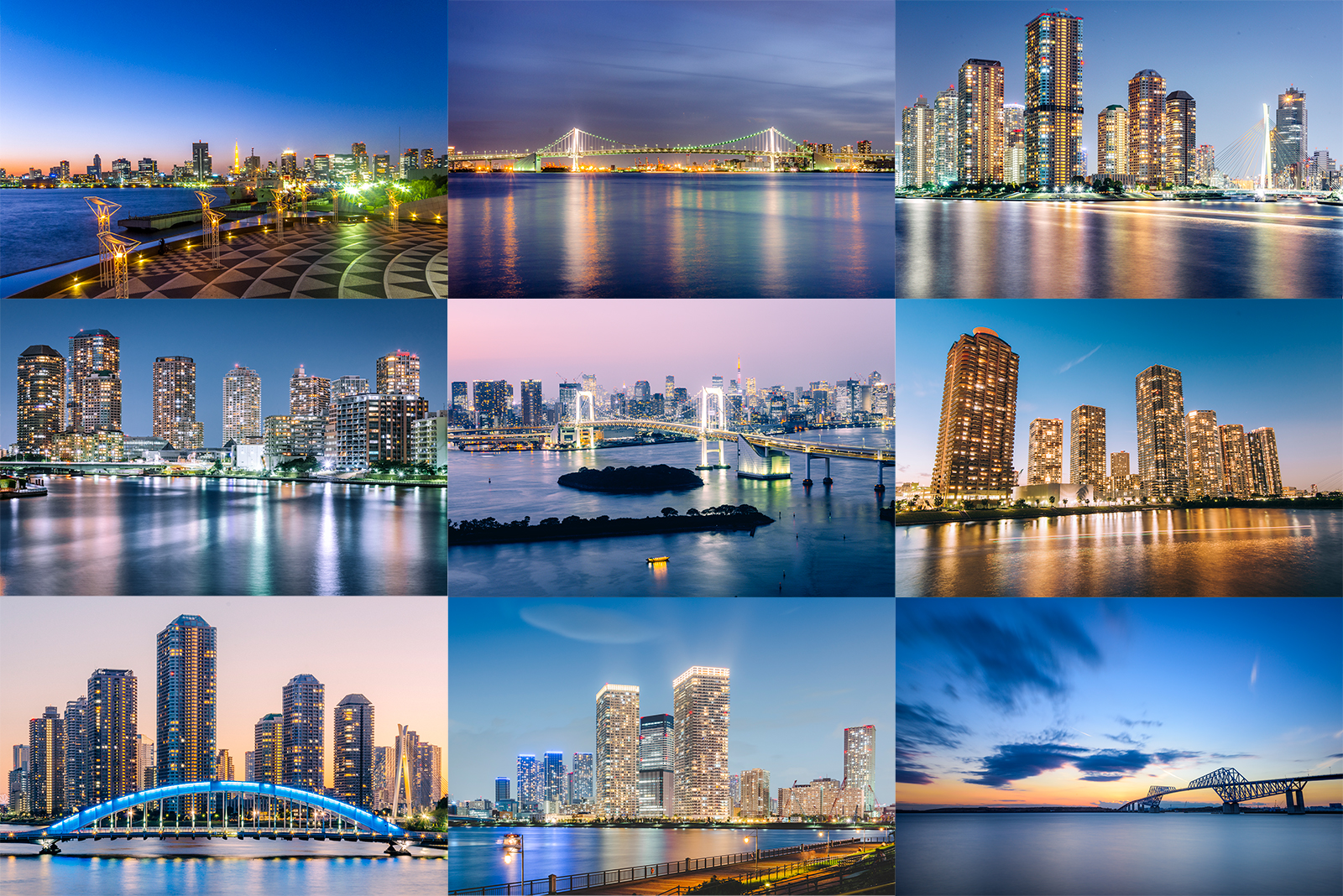 夜景鑑賞士が選ぶ、東京湾岸の夜景スポット12選
