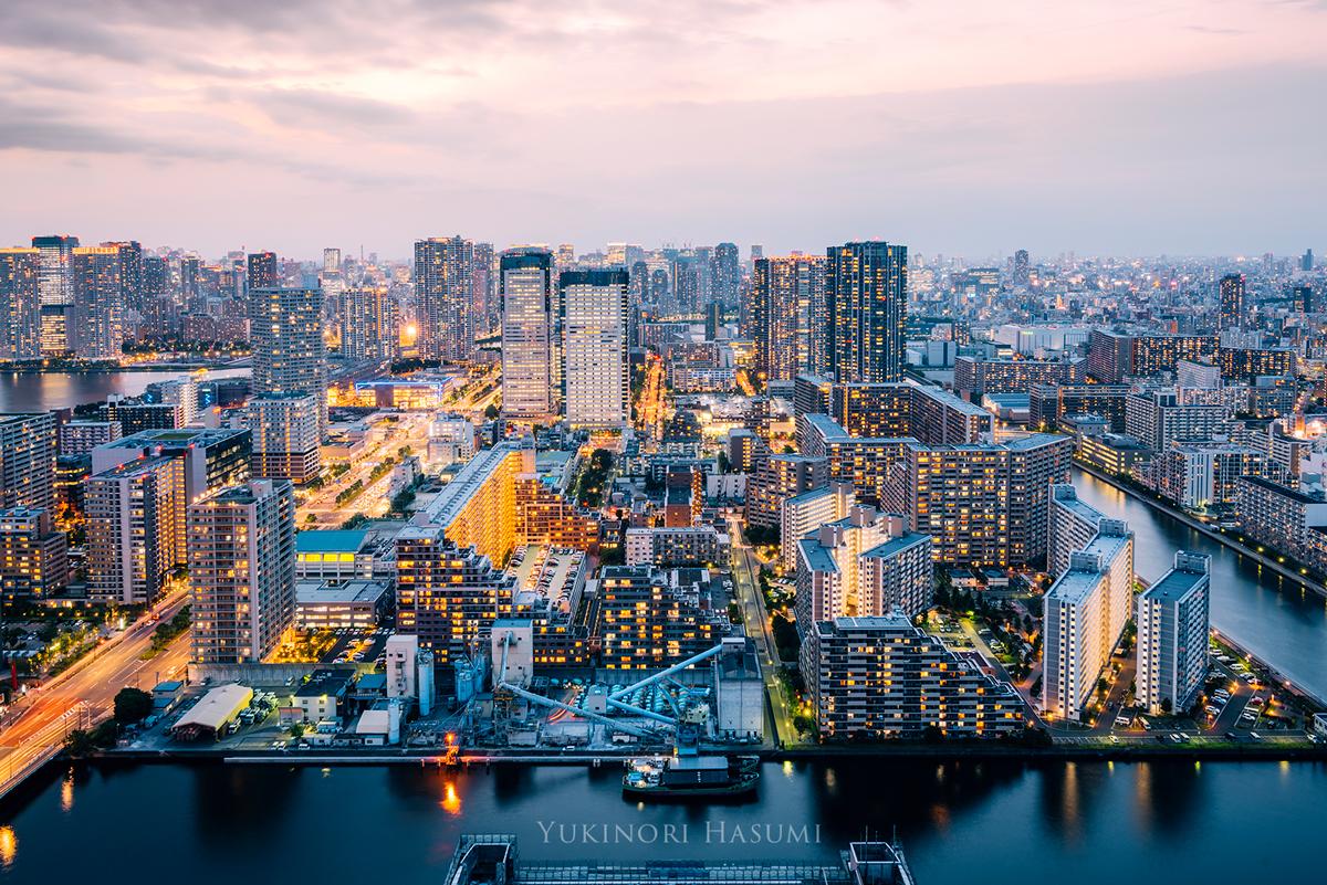 写真で伝えたい「江東区豊洲」の美しい都市景観