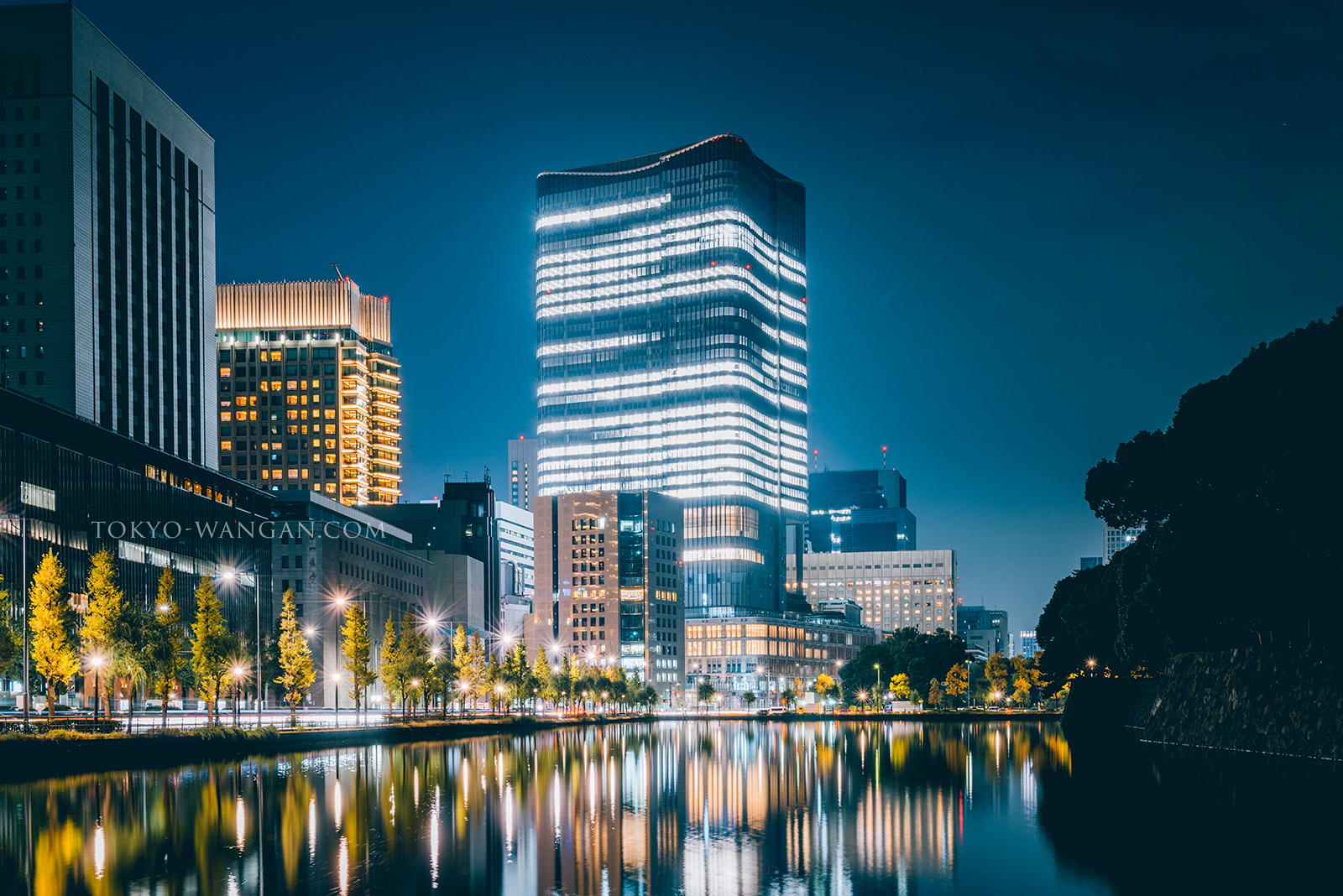 2018年3月29日オープン 東京ミッドタウン日比谷の試験点灯