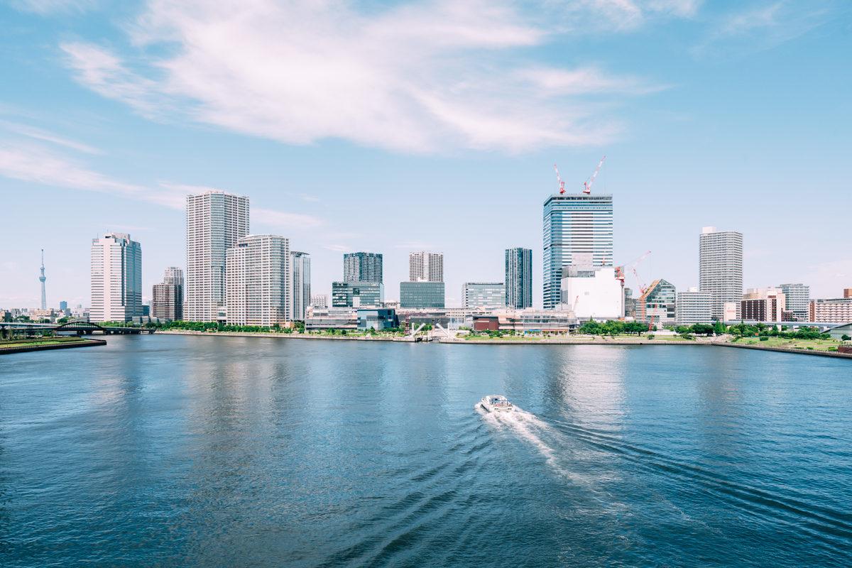 夏の晴海運河が最高な理由