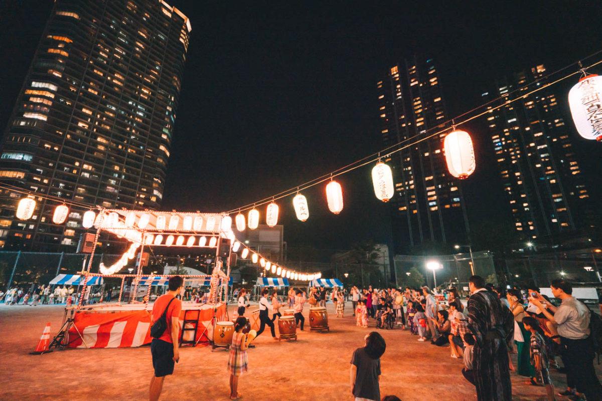 豊洲ふれあい納涼祭が実にハートウォーミングだった