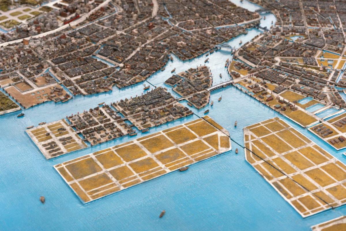 昭和6年の東京模型で辿る湾岸エリアの過去