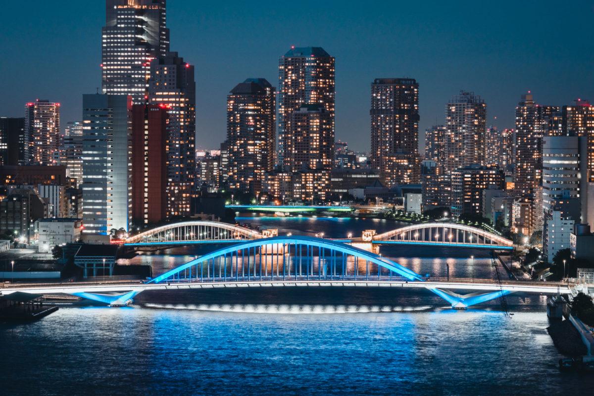 インターコンチネンタル東京ベイから望む美しきリバービュー
